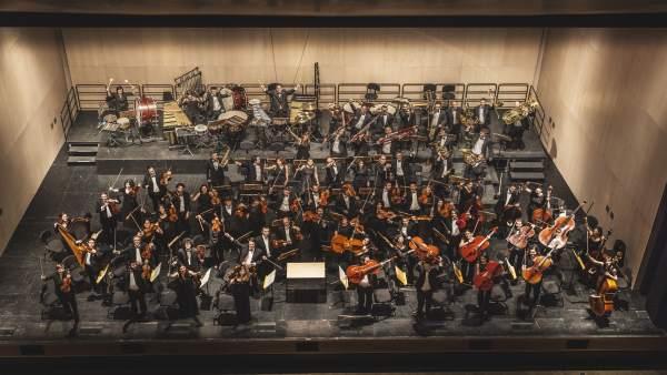La orquesta Sinfónica de Burgos