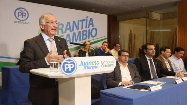 Gabriel Amat (PP) en la junta directiva provincial