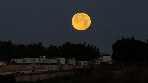 'Luna de nieve' en México