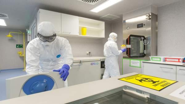 Nuevo laboratorio de bioseguridad 3 en la Universidad de Navarra.