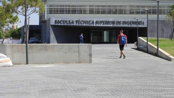 Nuevo edificio de la Escuela de Ingeniería de la UHU, en el Campus del Carmen.
