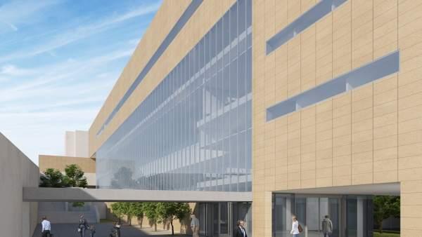 Diseño del proyecto del nuevo edificio de consultas externas de Torrecárdenas