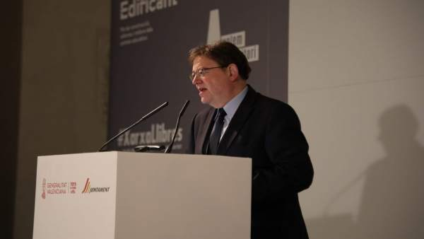 Puig acudirà aquest dimecres a la votació en el Senat de la reforma de l'Estatut valencià