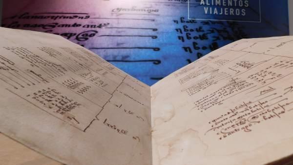 Exposición 'Sabores que cruzaron los océanos'  del Archivo de Indias