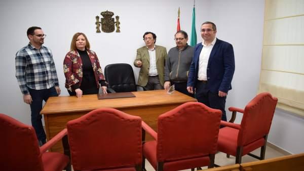 El nuevo Juzgado de Paz estrena el edificio multifuncional de la plaza de Andalu