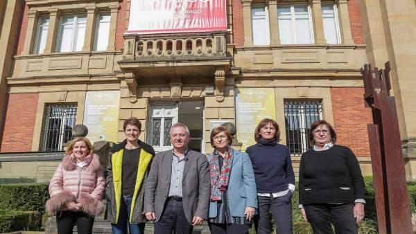 El Representantes de la Diputación de Gipuzkoa en el Archivo General de Gipuzkoa