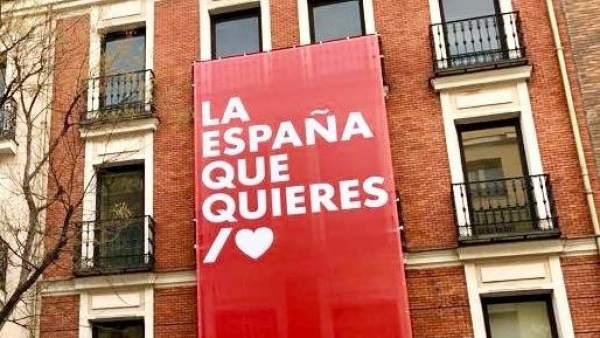 """""""La España que quieres"""", el eslogan del PSOE por el 28A"""