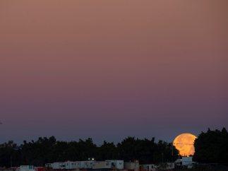 La 'Luna de nieve' se asoma en México