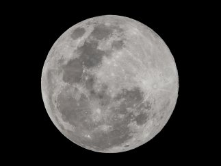 La 'Luna de nieve' filipina