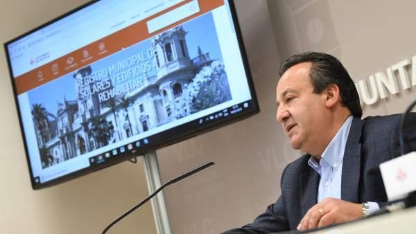 Nueva web del Registro de Solares de València