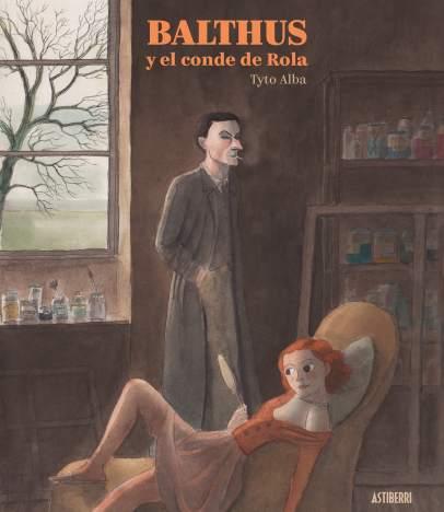 Portada de 'Balthus y el conde de Rola', cómic editado por Astiberri y el Museo Thyssen con motivo de la exposición dedicada al artista francés.