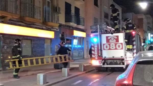 Bomberos de Almería en una imagen de archivo