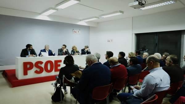 El Secretario General Del PSRM-PSOE Y Candidato A La Presidencia De La Comunidad