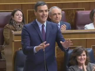 """Pedro Sánchez: """"Señor Casado tiene la lengua muy larga"""""""
