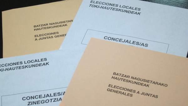 El PNV sería la fuerza más votada en municipales y forles según el sociómetro