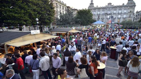 Casetas De La Feria De Día De Santander
