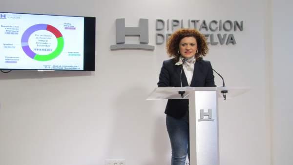 Huelva.- La vicepresidenta de Diputación, María Eugenía Limón, nueva candidata d