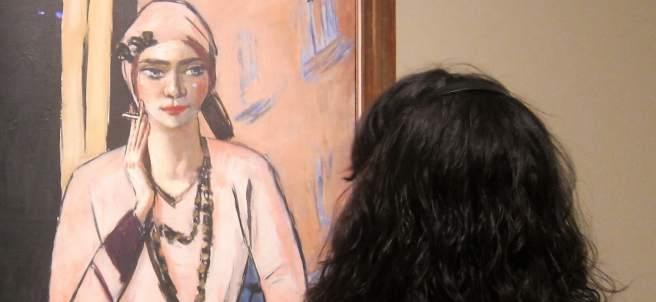 Exposición dedicada a Max Beckmann en el CaixaForum de Barcelona.