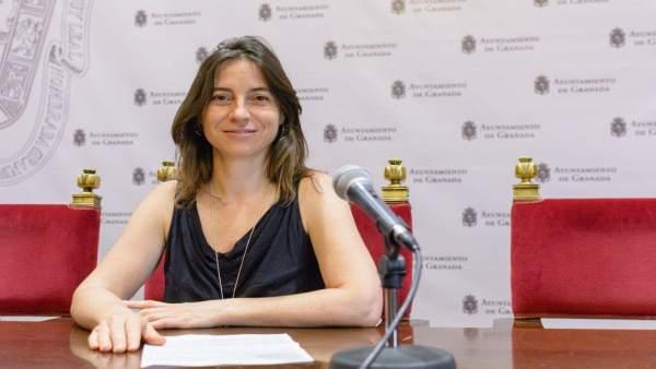 La edil de Vamos Granada Marta Gutiérrez