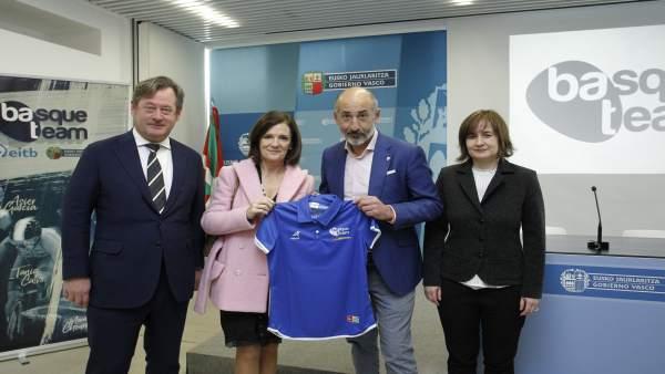 Fundación Basque Team, Athletic Club y Eibar colaborarán para impulsar el deport