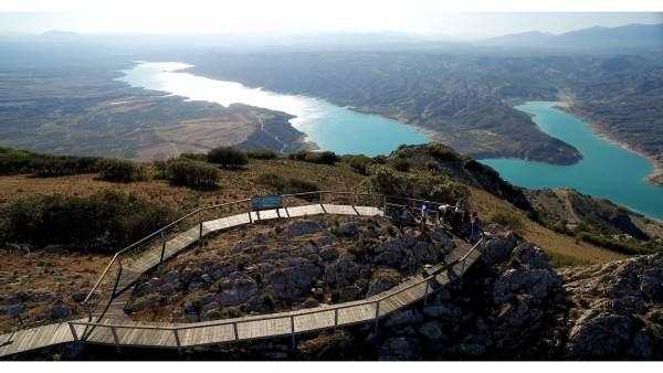 Enclave del proyecto de Geoparque de Granada