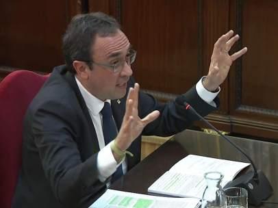 Josep Rull, en su interrogatorio