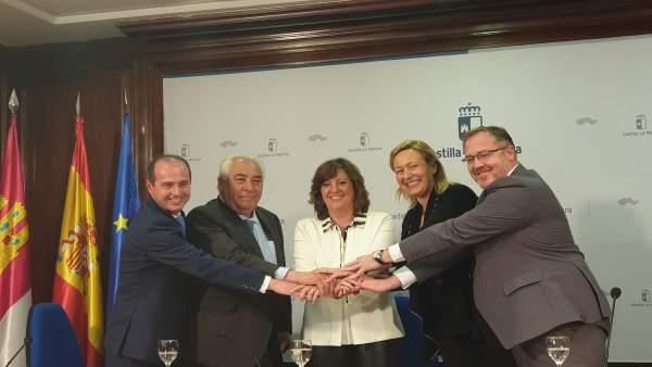 Gobiernos de Aragón y C-LM firman protocolo para desarrollar actuaciones logísti