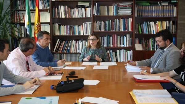 La directora general de Trabajo, Sandra Pacheco