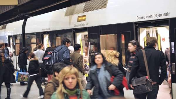 Usuarios de Metrovalencia