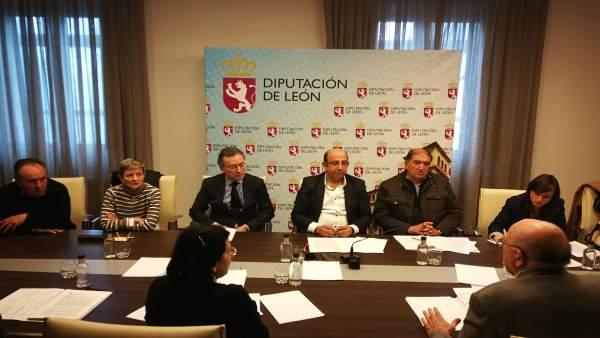 Reunión del Consorcio del Aeropuerto de León