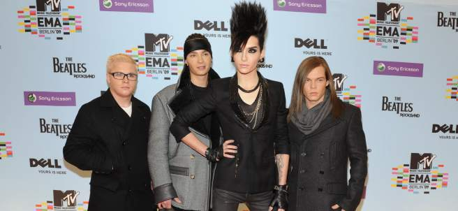 el grupo Tokio Hotel en Berlín