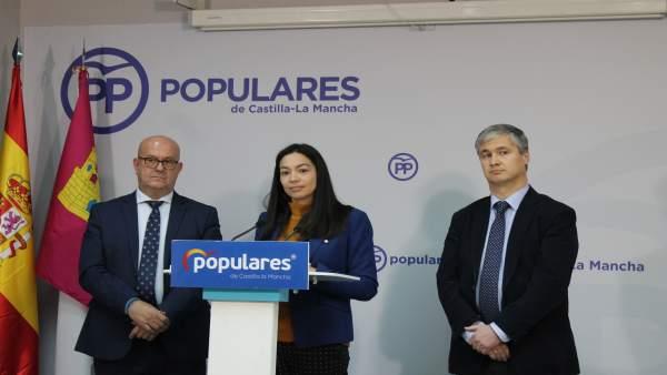 Pp Toledo (Nota De Prensa, Cortes De Voz Y Fotogafía) Claudia Alonso Denuncia Ci