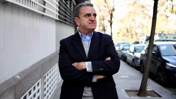 José Manuel Franco, en la sede del PSOE M.