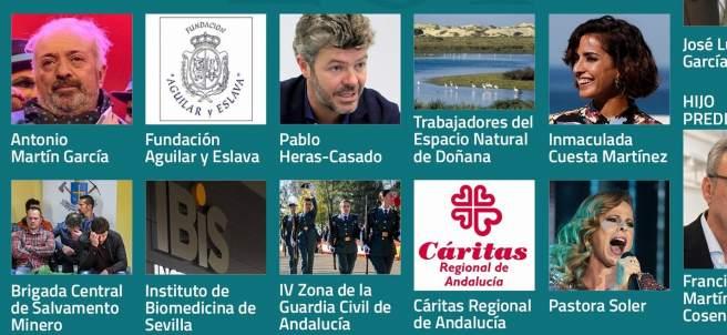 Medallas de Andalucía 2019