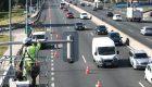 Madrid instala los semáforos en la entrada de la A-5