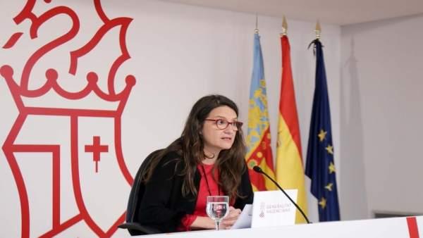 Mónica Oltra en imagen de archivo