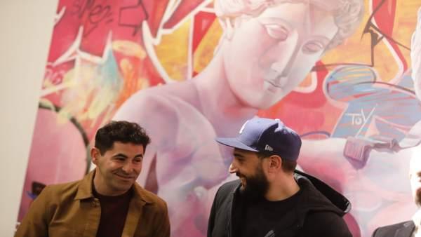 El grafit i l'art clàssic es donen la mà a València gràcies a PichiAvo