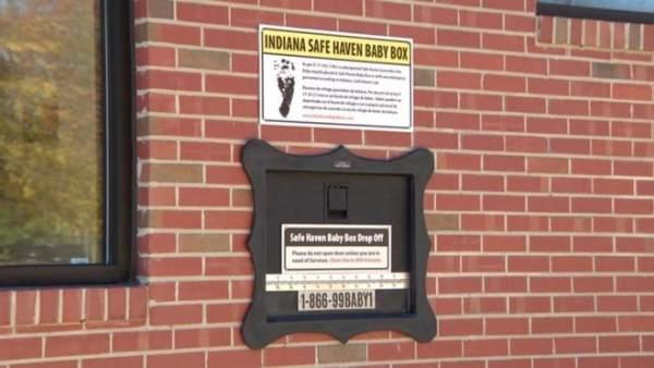 Buzón para depositar bebés en Indiana