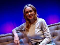 Kira Miró en el Teatro Lara de Madrid.