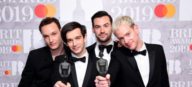 El grupo ingles The 1975