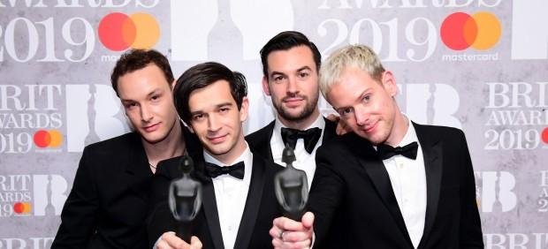 Descubre a The 1975, los grandes triunfadores de los premios Brit
