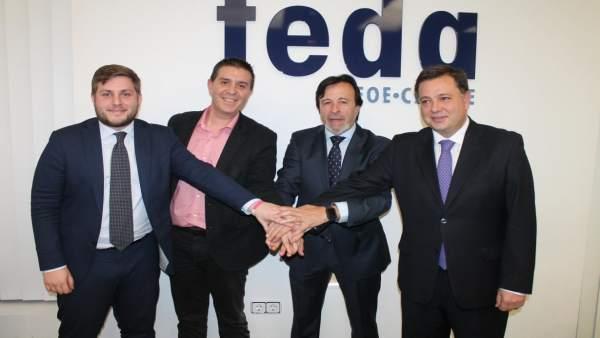 Pérez Alfaro es reelegido al frente de FEDA