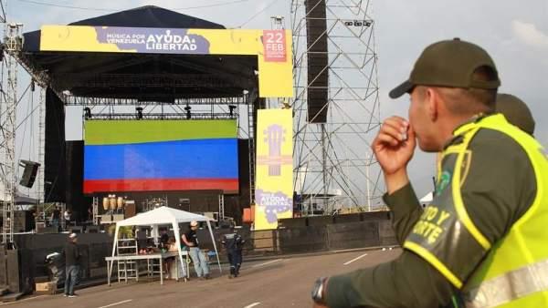 Concierto 'Venezuela Aid Live'