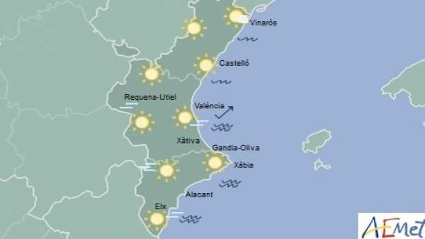 El cap de setmana comença amb una notable pujada de les temperatures màximes que arribaran als 23º