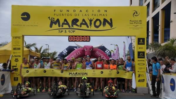 [Grupocanarias] Np Fundación Puertos Las Palmas Abre Plazo Media Maratón Y Carre