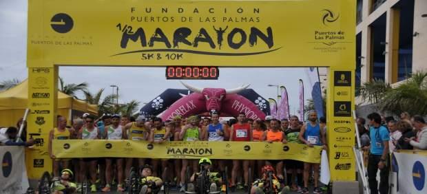La Fundación Puertos Las Palmas abre el plazo de inscripción para su media maratón