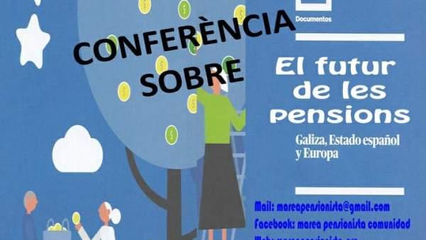 Lidia Senra defiende en Barcelona las pensiones públicas y vías para salir de la