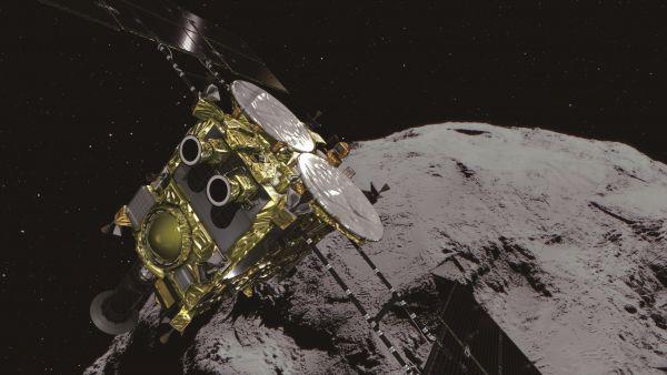 La Hayabusa2 aterriza en el asteroide Ryugu