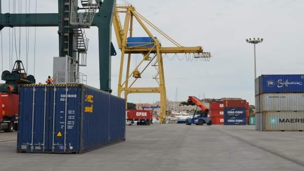 Imagen del Puerto de Cartagena