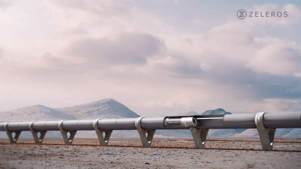 Zeleros instalará una pista de pruebas de dos kilómetros para el 'hyperloop' en